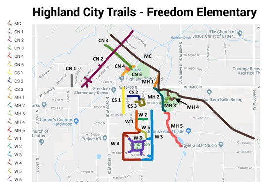 Highland City Trails - Freedom Elementary